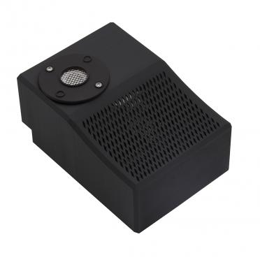 Maschinenbau Verkleidung aus schwarzem Kunststoff 3D Druck Material