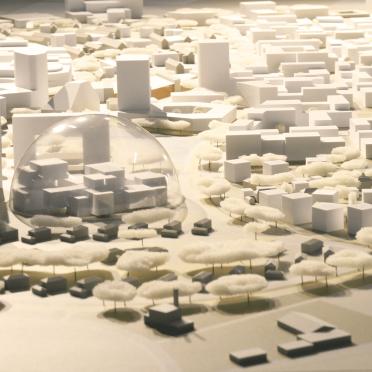 Stadtentwicklung Heidelberg Modell von PHV
