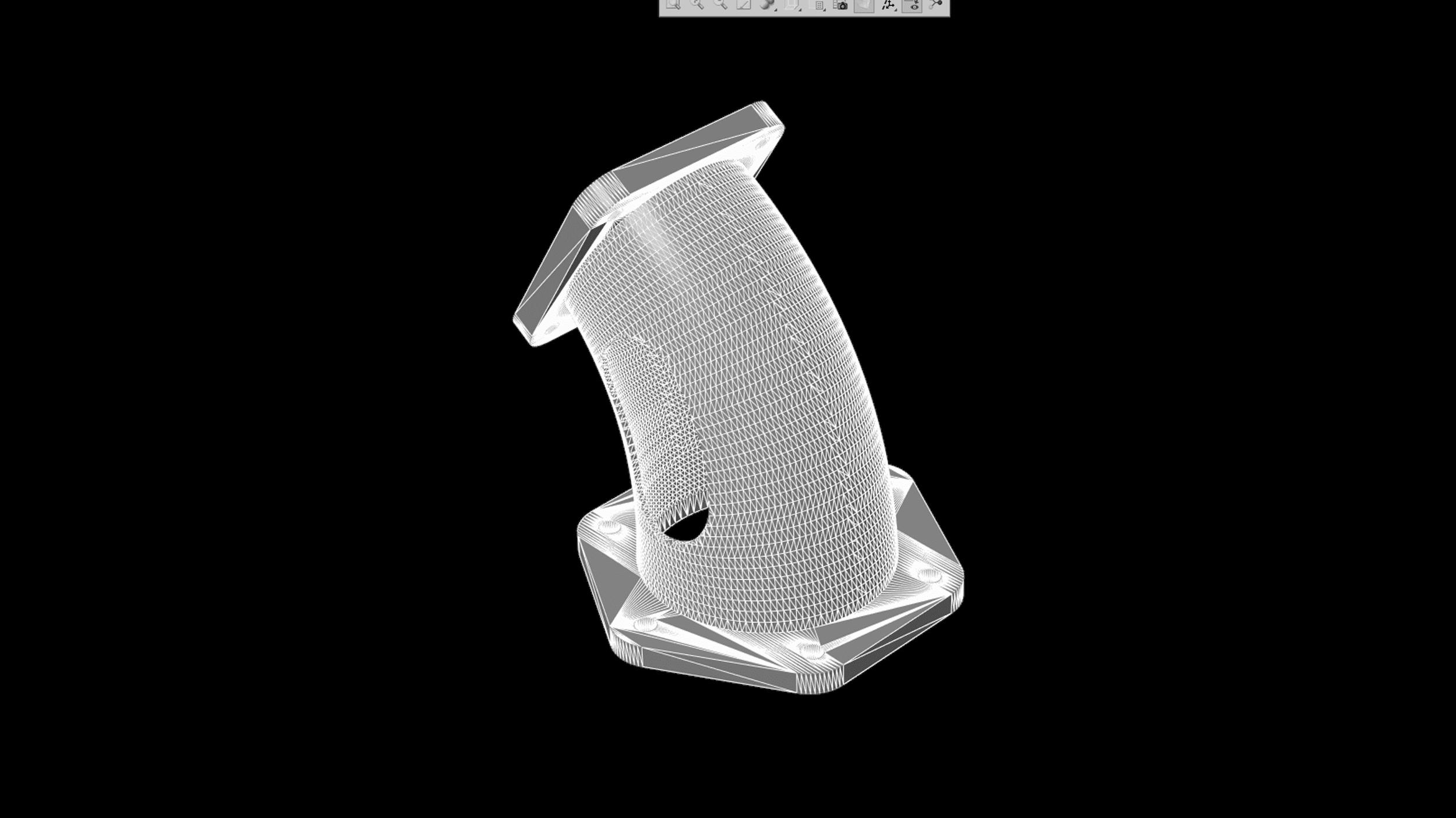 STL-Datei eines 3D Modells für die additive Fertigung
