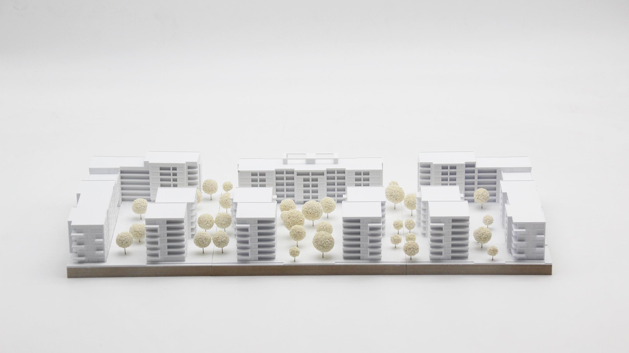 Modellbau in der Architektur und Bauwesen realisiert mittels additiven Fertigungsverfahren