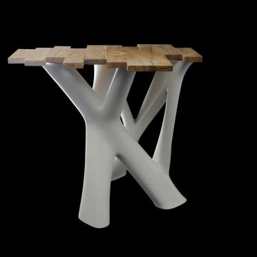 3D gedrucktes Möbelstück in Großformat