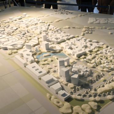 Architekturmodell groß Heidelberg
