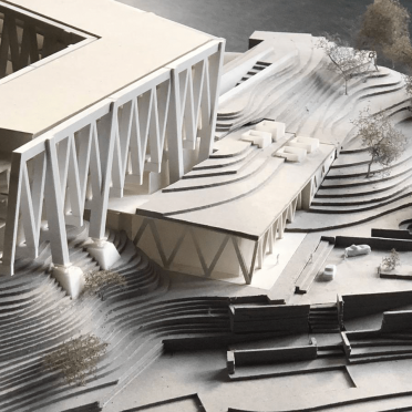 Modellbau Architekturmodell Schnitt