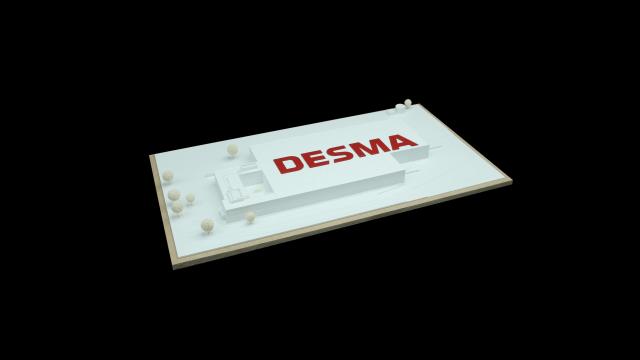 Architekturmodell aus dem 3D Drucker