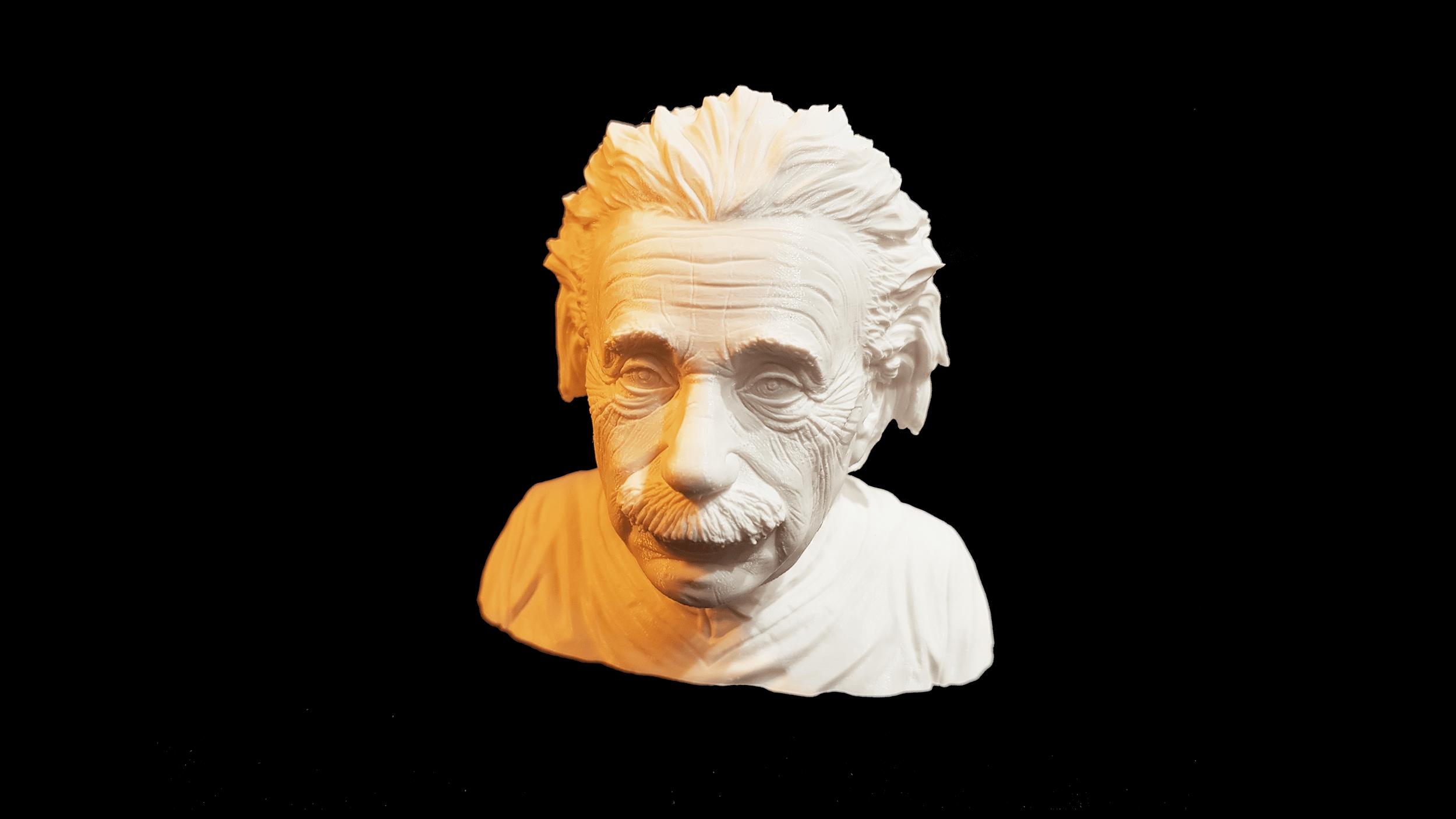 Einsteinfigur aus dem 3D Drucker