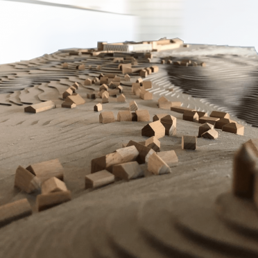 Umgebungsmodell Architektur Holz