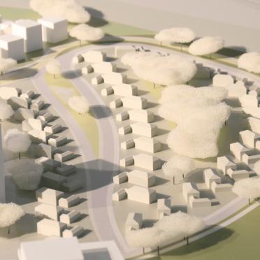 Architekturmodell Heidelberg 3D gedruckt