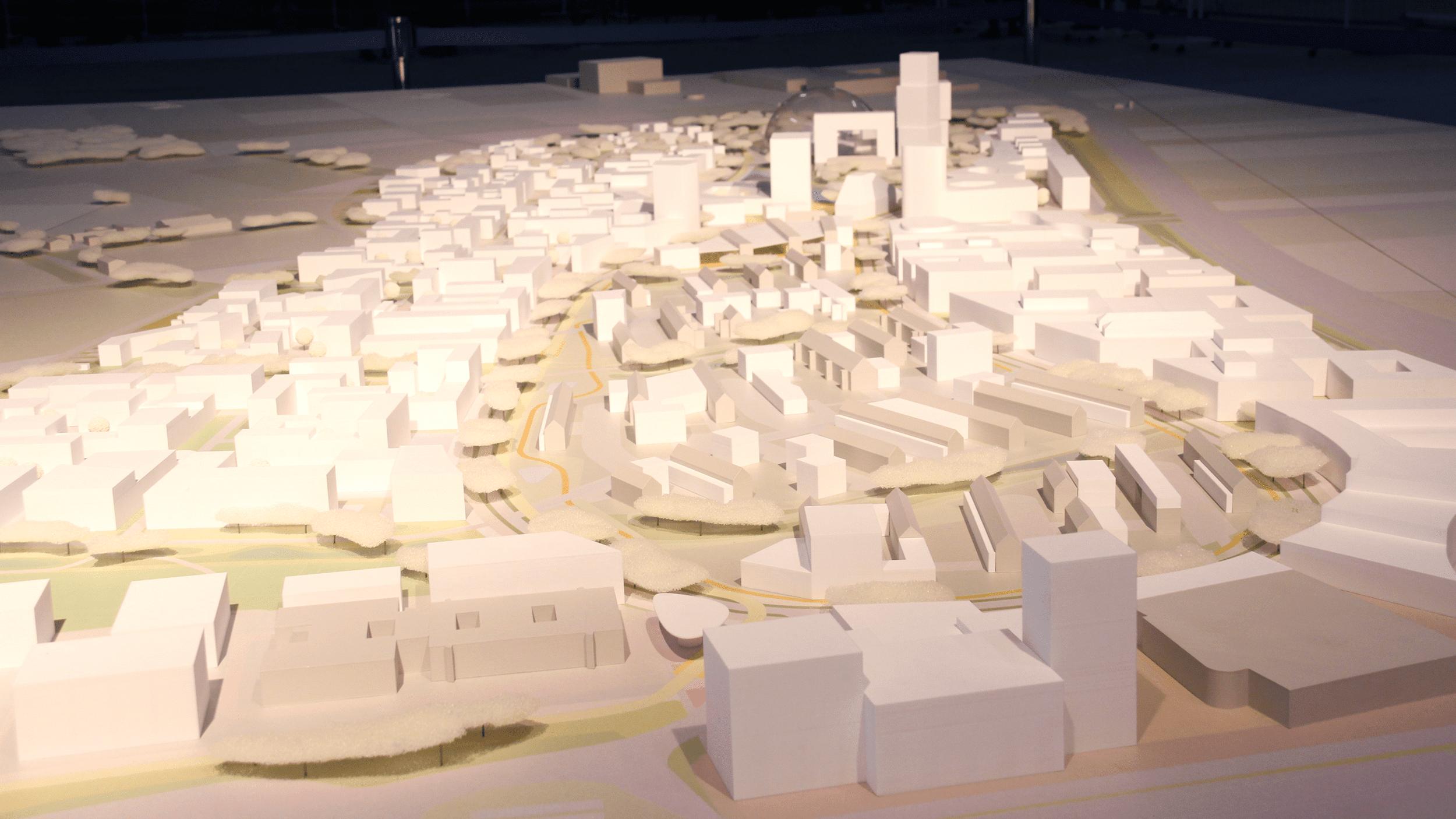 Städtebaumodell 3D Druck Heidelberg