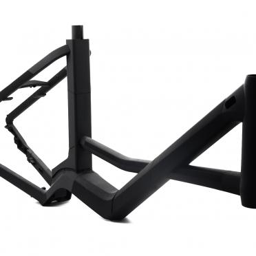 3D Druck Modell eines Fahrrads in schwarz für Designstudie