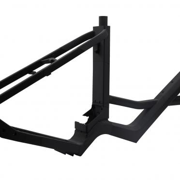 Rapid Prototyping Modell eines Fahrradrahmens mit 3D-Druck gefertigt