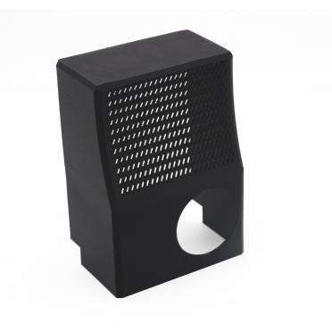 Verkleidungsteil in schwarz mit 3D Druck hergestellt