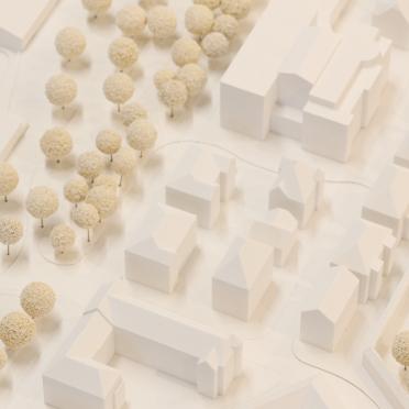 Umgebungsmodell Architektur 3D-Druck