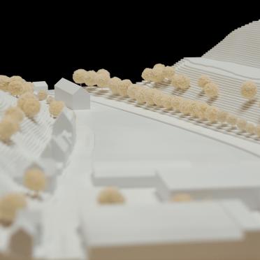 Architekurmodellbau Ulm Weiß